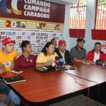 Parte de la JPsuv presente en la rueda de prensa/FOTO:José Valera
