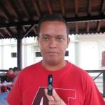 Darwin Escalona, representante de la juventud del CCC en Guanare /FOTO: Diango Viloria
