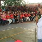 Calles exhortó a los consejos comunales y circuitos respaldar las políticas revolucionarias en el Municipio
